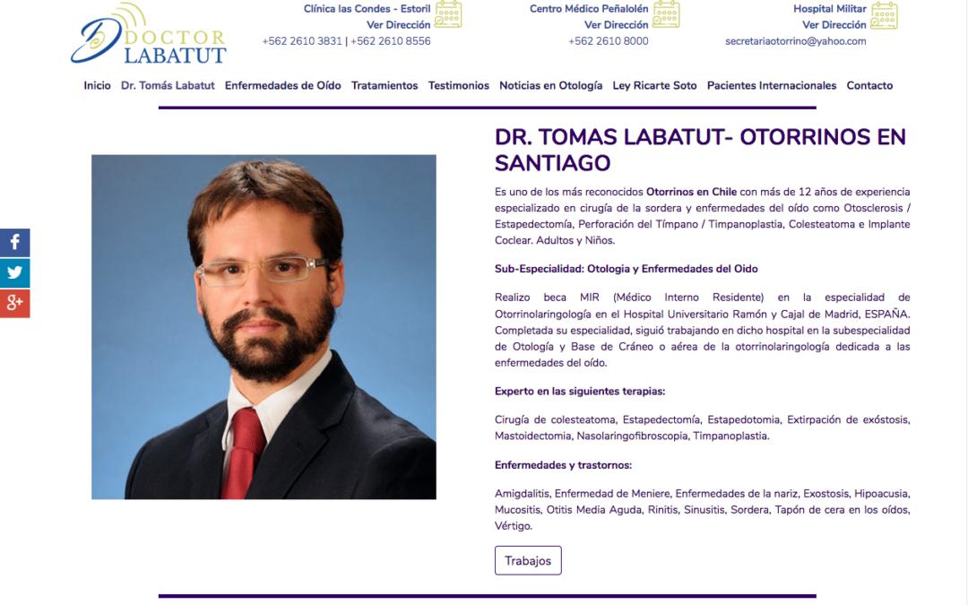 Doctor Labatut, Experto en Implante Coclear
