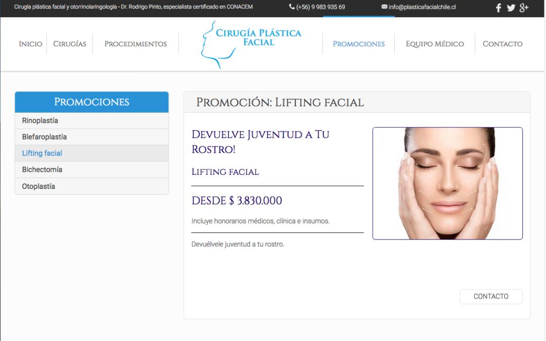 Plástica Facial, Cirugía Facial en RM