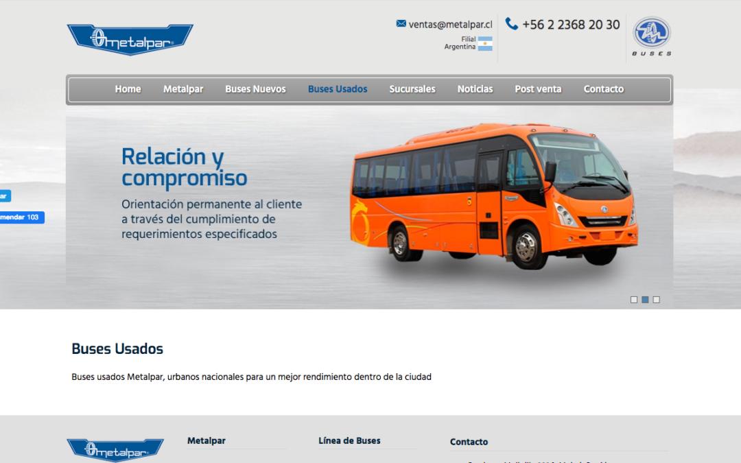 Metalpar, Buses Urbanos Nacionales