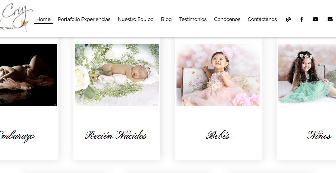 Estudio F. Erica Cruz, Sesión de fotos de Embarazadas