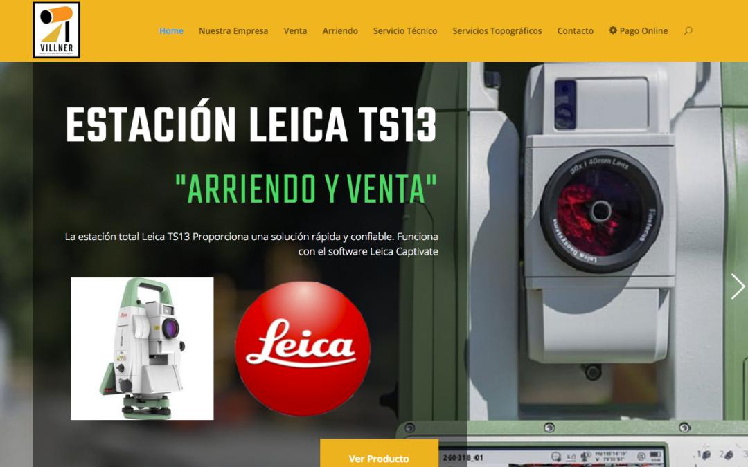 Villner, Arriendo Sistema GNSS en Santiago