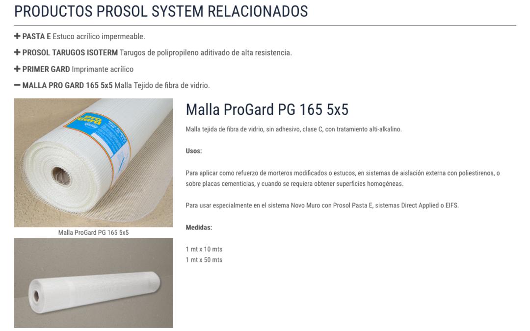 Prosolsystem, Comercializadora de EIFS
