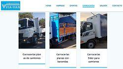 Viavan, carrocerías de carga general en Santiago