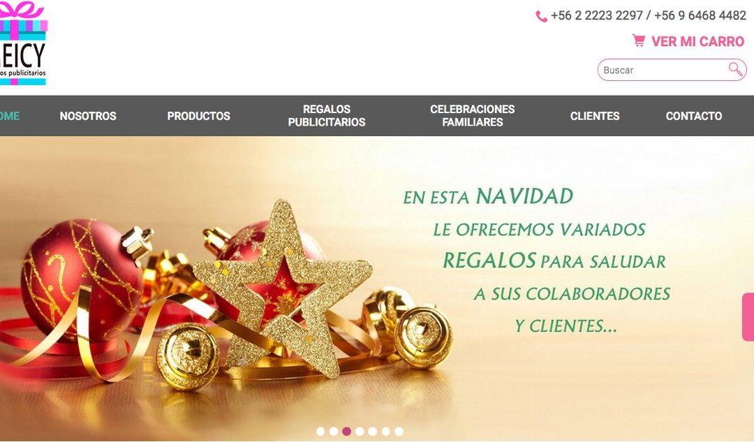 Meicy, empresa de regalos publicitarios en Santiago