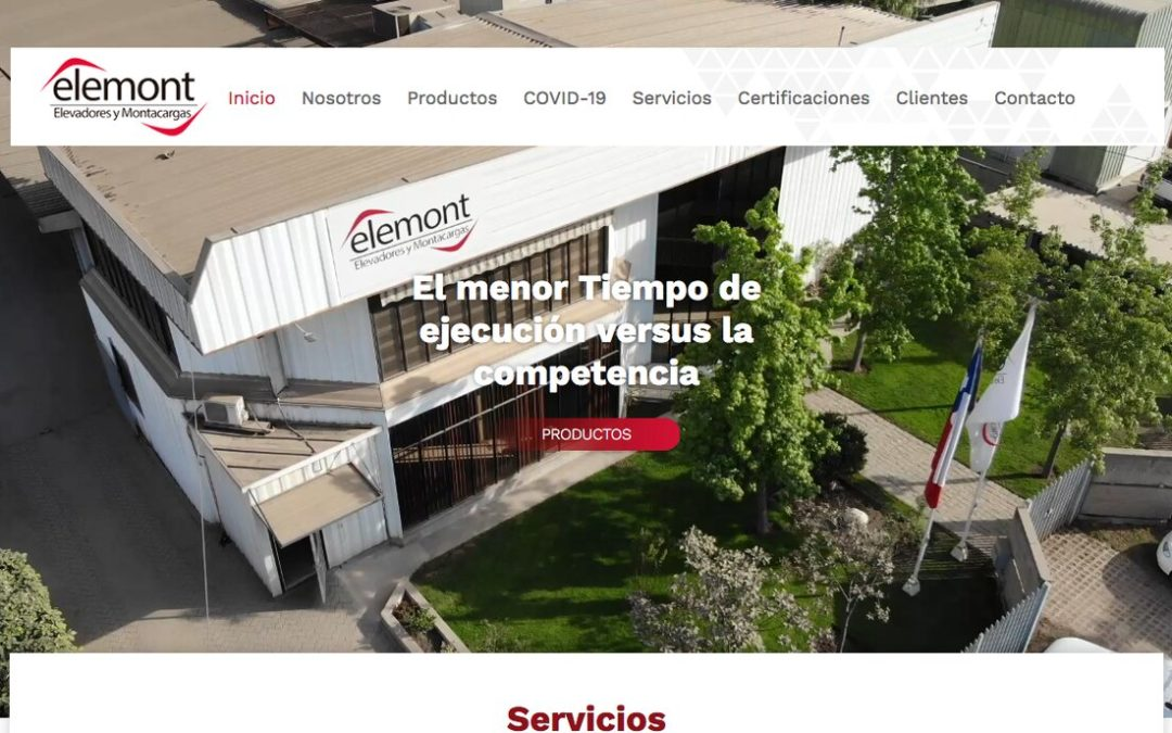 Elemont, expertos en elevadores de carga