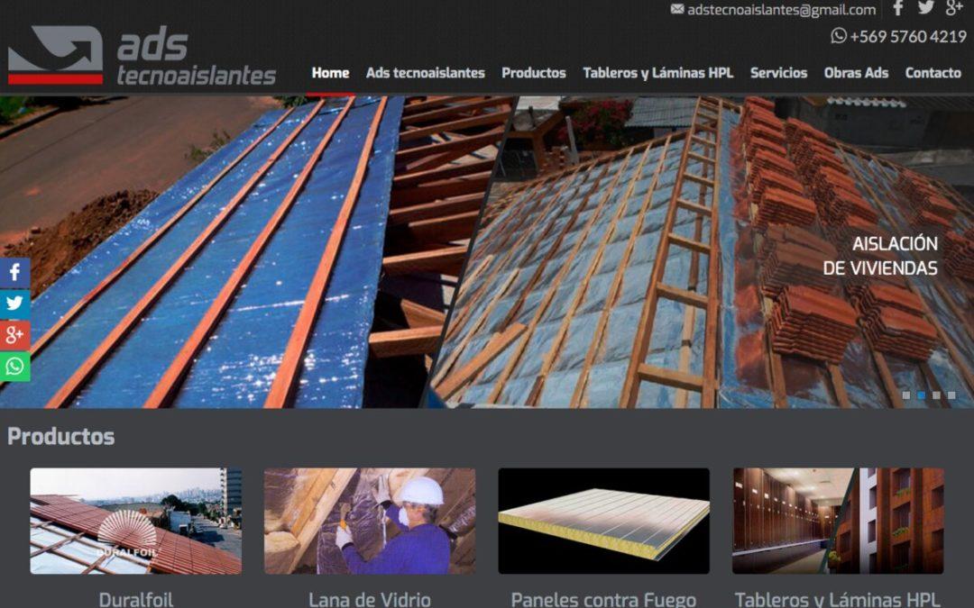 ADS Tecnoaislantes, venta de Laminados HPL para arquitectura