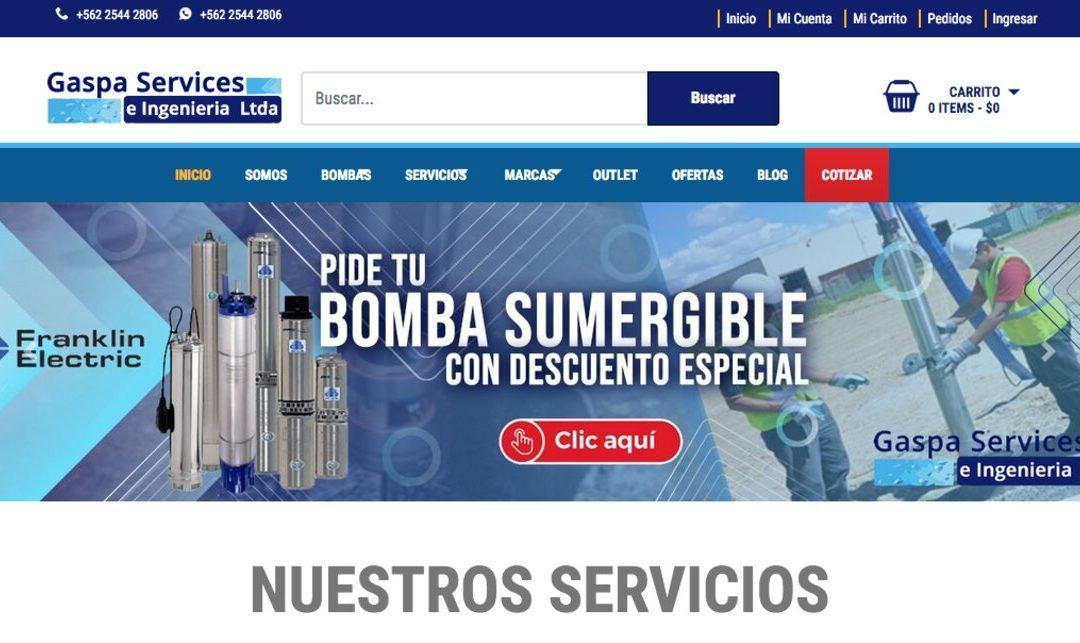 Gaspa Services, mantenimiento de bombas de agua potable