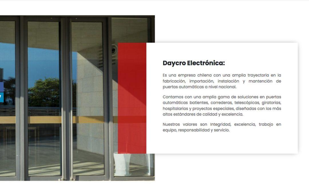 Puertas Daycro, las grandezas de las puertas automáticas