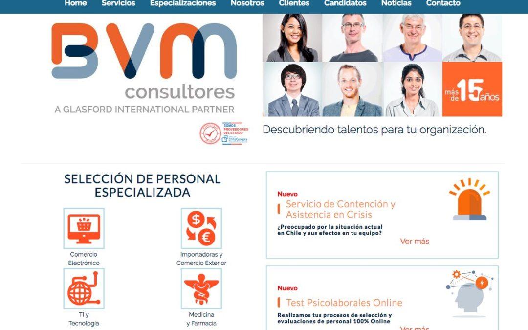BVM Consultores, servicio de reclutamiento y selección de personal en Chile